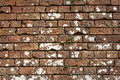 Free Old Weathered Red Brick Wall Royalty Free Stock Photos - 1002978