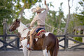 Free Man On Horse Back Stock Image - 1012301