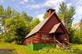 Free Log Church - 1 Stock Photo - 1036520