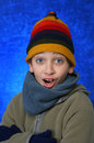Free Boy Doing Fun Expression Royalty Free Stock Images - 1048139