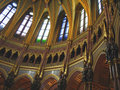 Free Under The Dome Of Hungarian Parliament Stock Photo - 1089060