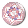 Free Pink And Purple Star Glass Button Orb Stock Photos - 1097723
