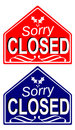 Free Closed Sign 1 Royalty Free Stock Image - 1108646