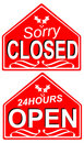 Free Closed Sign 2 Stock Photography - 1108652
