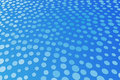 Free Blue Spot Pattern Stock Photography - 11181692