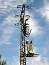 Free Power Pole Stock Image - 1140941