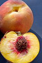 Free Ripe Juicy Fleshy Peaches Royalty Free Stock Image - 1150736