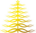Free Ornate Golden Christmas Tree Stock Photo - 11720170