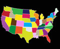 Free Counties Of America Royalty Free Stock Photography - 11886257