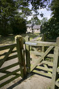 Free Views From The Heart Of England Way Footpath Baddesley Clinton W Royalty Free Stock Image - 1273136