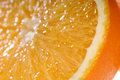 Free Juicy Orange Slice Very Close-up Stock Photos - 12830393
