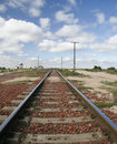 Free Train Tracks Australia Royalty Free Stock Photography - 1329267