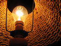 Free Photograph Of Inside Of Electric Lamp Royalty Free Stock Photography - 1350727