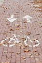 Free Bicycle Path Royalty Free Stock Photos - 13894578