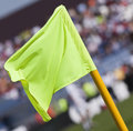 Free Corner Flag Royalty Free Stock Image - 14155946
