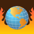 Free Global Warming Royalty Free Stock Photography - 14221967