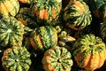Free Gordes, A Variety Of Squash, As Displayed At An Outdoor Farmer S Market Royalty Free Stock Images - 1439749
