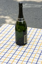 Free Bottle Of Champagne Royalty Free Stock Photos - 14374498