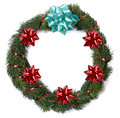 Free Christmas Wreath Royalty Free Stock Photos - 1463298