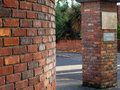 Free Brick Material Gate Royalty Free Stock Photos - 1475408