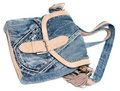 Free Feminine Jeans Bag Royalty Free Stock Photo - 15013165