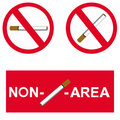 Free Non Smoking Area Royalty Free Stock Image - 15309286