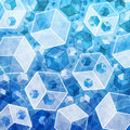 Free Abstract 3d Cubes In Technology Style. Stock Images - 15556474