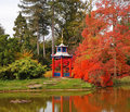 Free Autumn In A Japanese Style Garden Royalty Free Stock Images - 15726259