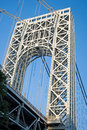 Free George Washington Bridge Tower Royalty Free Stock Image - 15729086