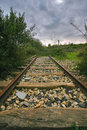 Free Abandoned Railway Line Royalty Free Stock Photo - 15779135