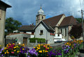 Free Little Quiet French Village. Stock Image - 15798681