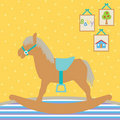 Free Baby Rocking Horse Royalty Free Stock Photo - 15859335