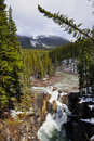 Free Waterfall In Jasper Nation Park Stock Images - 16023894