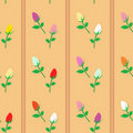 Free Roses Seamless Pattern Royalty Free Stock Photos - 16067638