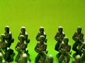 Free Plastic Green Army  4 Stock Images - 1639984