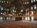 Free Interior Of The Blue Mosque Stock Photo - 1646180