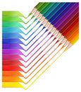 Free Pencil Rainbow Royalty Free Stock Images - 16537139