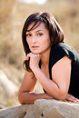 Free Portrait Of A Beautiful Woman, Outdoor Portrait Stock Photography - 16539652