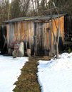 Free Hut Prepared For The Winter Stock Images - 16665724