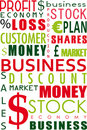 Free Business Word Collage Stock Photography - 16690522