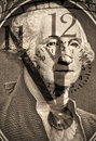 Free George Washington From US One Dollar Stock Image - 17074151