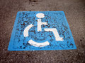 Free Handicap Icon Stock Photo - 17181980