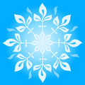 Free Snowflake Winter  Illustration Royalty Free Stock Images - 17255019