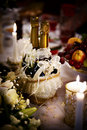 Free Bottle Of Champagne And Candles Royalty Free Stock Photo - 17444975
