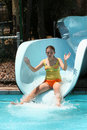 Free Water Slide Stock Photo - 1768960