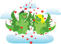 Free In Love Dragons Royalty Free Stock Photography - 17665797