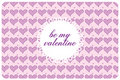 Free Postcard St Valentine S Day Royalty Free Stock Photos - 17739808