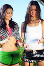 Free Girlfriends On Picnic Royalty Free Stock Images - 18220459