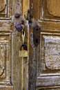 Free Old Wooden Door Of An Old House Royalty Free Stock Photos - 18290588