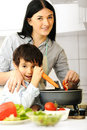 Free Happy Mother And Little Son Royalty Free Stock Photos - 18634278